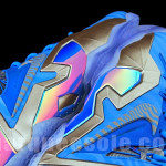 Nike LeBron 11 Elite Blue Stripe 3M