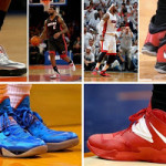 King James and His 26 Different Nike Zoom Soldier VII's in 2013-14