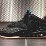 "Nike LeBron 11 Low Black & Hyper Crimson ""Gum"" New Pics"