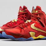 Nike LeBron 11 Elite SE University Red/Metallic Gold Drops on 8/1