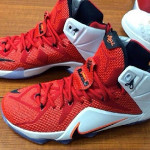 "Nike LeBron 12 Red & White ""Lion Heart"" Release Date"