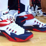 "DeMarcus Cousins' Nike Zoom Soldier 8 ""USA Basketball"""