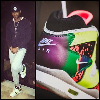 Slimmed Down LeBron Wears Nike Air Tech