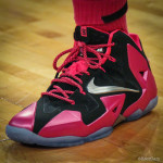"Swin Cash Debuts Nike LeBron 11 ""Think Pink"" PE"