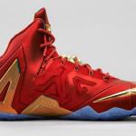 Release Reminder: Nike LeBron 11 Elite SE Red & Metallic Gold