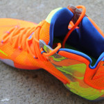 "A Detailed Look at the Orange / Volt Nike LeBron 12 ""Nerf"""