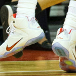 "King James Debuts Nike LeBron 12 ""Home"" Player Exclusive"
