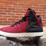 "Closer Look at Nike LeBron XI NSW Lifestyle ""Red Cork"""