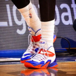 Wearing Brons: Amare Stoudemire's Soldier 8 Knicks PEs (x2)