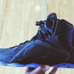 "Nike LeBron 12 ""Triple Black"" Sample – New Look"