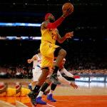 "James Debuts ""Data"" Nike LeBron 12 at MSG"