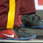 "King James Debuts ""Bred"" LeBron 12 PE in Loss vs. Hawks"