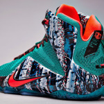"""Nike Basketball Presents Christmas Pack with LeBron 12 """"Akron Birch"""""""