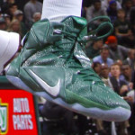 Nike LeBron 12 Michigan State Spartans Home & Away PEs