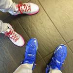 LeBron James Shows Off Nike LeBron XII Kentucky Away PE