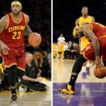 LeBron Drops 36 in L.A. vs. Kobe and New LeBron 12 Fairfax? PE