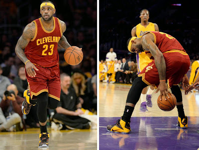 LeBron Drops 36 in L.A. vs. Kobe and New LeBron 12 Fairfax ...