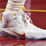Closer Look at LBJ's Latest Cleveland Cavaliers LeBron 12 Home PE