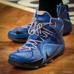 Wearing Brons: 76ers' Nerlens Noel Rocks LeBron 12 Instinct iD