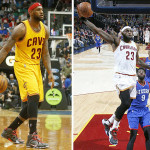 LBJ Debuts Court Vision vs. T-Wolves & Black/White/Red PE vs. 76ers