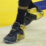 LBJ Wears Black & Gold Nike LeBron 12 for Grammy Night