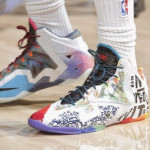"Wearing Brons: DeMarcus Cousins in ""What the LeBron"" 11's"