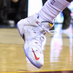 "LeBron Breaks Out New Nike LeBron XII ""Cavs"" PE (#28)"