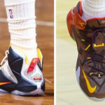 King James Debuts New Cavs PE and Men's Double Helix LeBron 12's