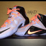 """First Look at Nike LeBron XII """"Easter"""" (684593-488)"""