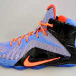 """Additional Look at Nike LeBron 12 """"Easter"""" in Grade School"""