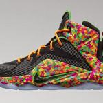 "Upcoming Nike LeBron 12 GS ""Fruity Pebbles"""