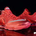 The All Red Nike LeBron 12 Low is Hitting More Stores