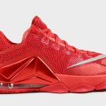 """All Over Red"" Nike LeBron 12 Low is Available at Eastbay"