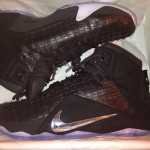 "Upcoming Nike LeBron XII EXT Black / Chrome ""Rubber City"""