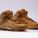 "Additional Look at Upcoming ""Wheat"" Nike LeBron XII EXT QS"