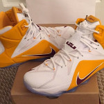 """First Look at Nike LeBron 12 """"Christ the King"""" Home Edition"""