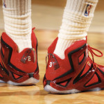 "LBJ Debuts LeBron 12 Elite ""Ignite"" in Game One Win Over Boston"
