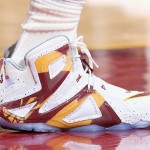 """James Debuts """"Cavs Home"""" LeBron 12 Elite in Game One Loss"""
