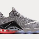 Upcoming Nike LeBron XII Low – Wolf Grey & Hot Lava