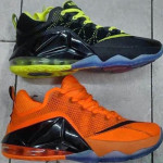Two LeBron 12 Low – Remix & Orange – Coming Out in July