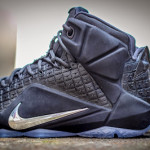 "Available Now: Black ""Rubber City"" LeBron XII EXT"