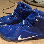 "Nike LeBron 12 ""Kentucky Wildcats"" Away PE Available on eBay"