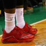 J.R. Smith is Shooting the Lights Out in Nike LeBron 12 Low-Tops
