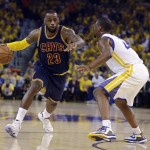 Cavs Lose Thriller, Kyrie? in Game 1 vs. Warriors.  LeBron Gets 44 Points.