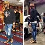 "King James Arrives to Game 3 Wearing ""Cork"" LeBron XII EXT"