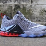 Release Reminder: Nike LeBron 12 Low Wolf Grey / Hot Lava