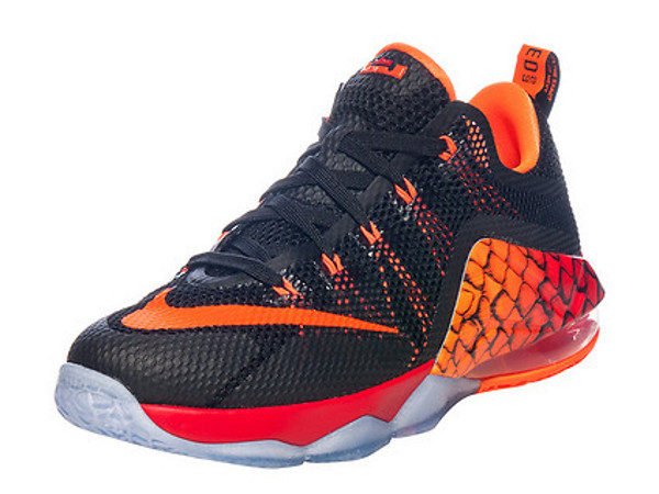Nike lebron 12 low fishing scales available in kids for Fish nike shoes