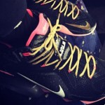 ICYMI, LeBron James Owns a Pretty Sick Black & Pink LeBron 12 PE