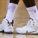 "Closer Look at Nike LeBron 12 NBA Finals ""Wine & Gold"" PE"