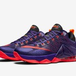 "Nike LeBron 12 Low ""Court Purple"" Drops Next Month"